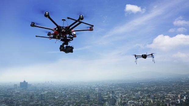 drones control plagas