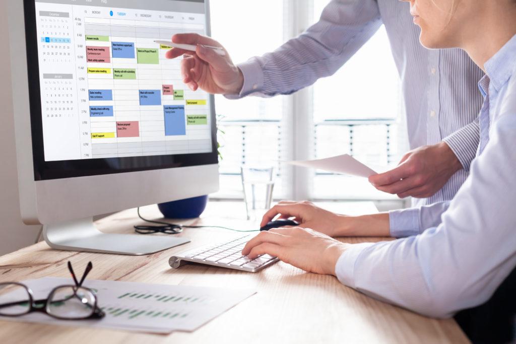 Planificar trabajos desde el planning