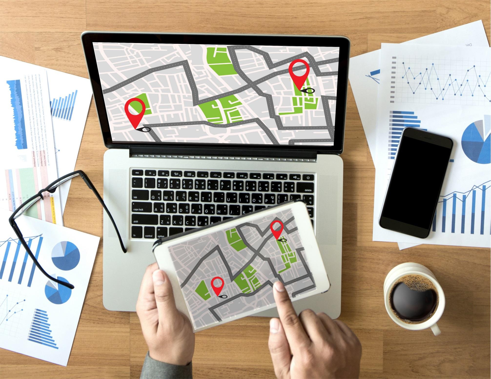 Optimizar rutas a tiempo real con la nueva tecnología en iGEO ERP