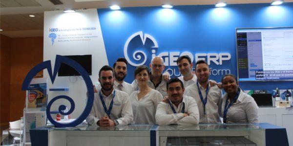 Éxito de iGEO ERP en Expocida 2020