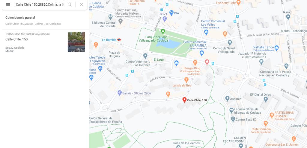 ACCESO DIRECTO A LA UBICACIÓN DEL AVISO DESDE LA ORDEN DE TRABAJO